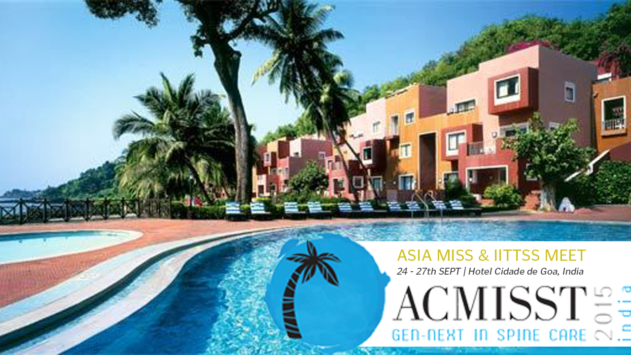 2015 ACMISST Conference at Cidade De Goa, India